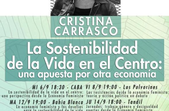 Cristina Carrasco en Argentina: La sostenibilidad de la Vida en el Centro, una perspectiva desde la Economía Feminista