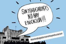 Solidaridad con lxs trabajadorxs del Ministerio de Educación