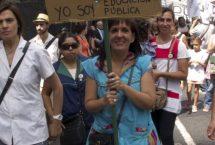 La paritaria de la Administración Central del Estado y los sesgos de género en pugna