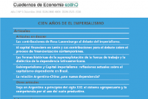 Cuadernos de Economía Crítica No 5 disponibles en línea!