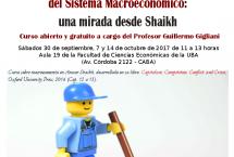 Curso sobrevisiones críticasdel Sistema Macroeconómico: una mirada desde Shaikh